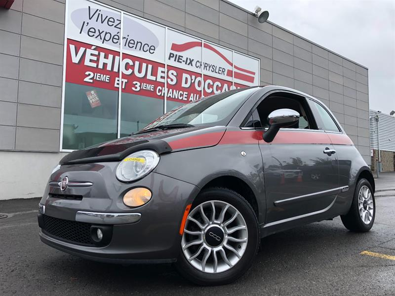 Fiat 500 2013 2dr Conv+GUCCI EDITION+LOUNGE+CUIR+WOW! #UD4860