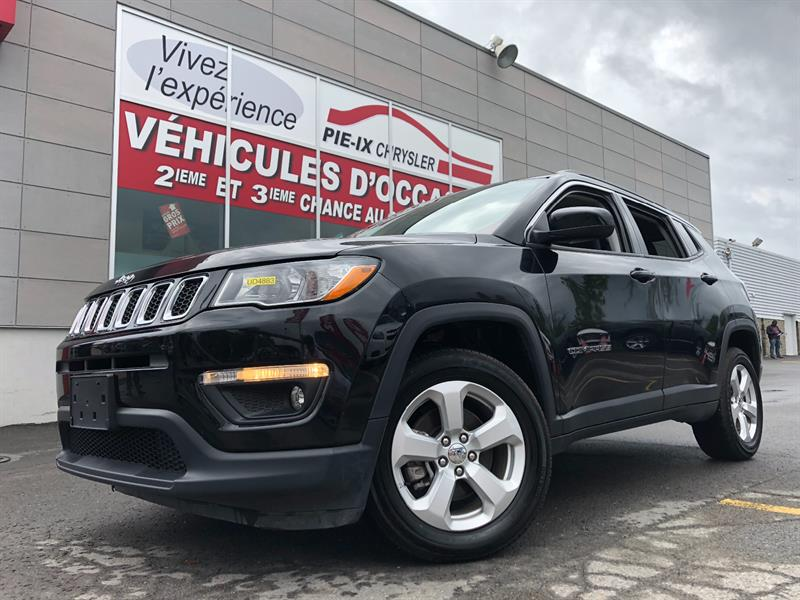 Jeep Compass 2018 North 4x4+MAGS+CUIR/TISSUS+WOW! #UD4883