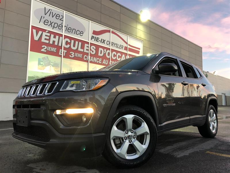 Jeep Compass 2018 North 4x4+MAGS+CUIR/TISSUS+WOW! #UD4884
