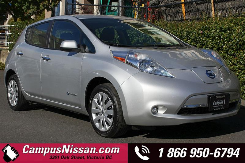2015 Nissan Leaf S w/ Quick-Charge #JN3020