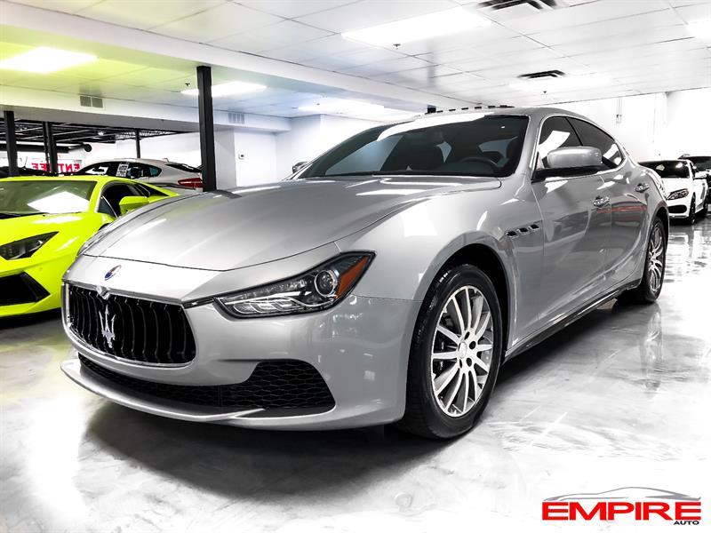 Maserati Ghibli 2014 S Q4 404HP #A9667M