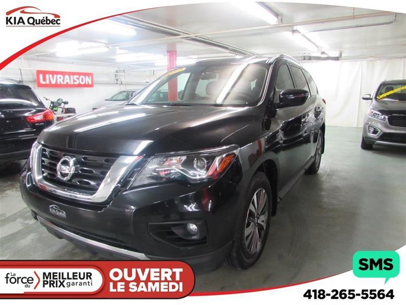 Nissan Pathfinder 2018 SV* TECH* AWD* GPS* BIZONE* 7 PLACES* #QU10245