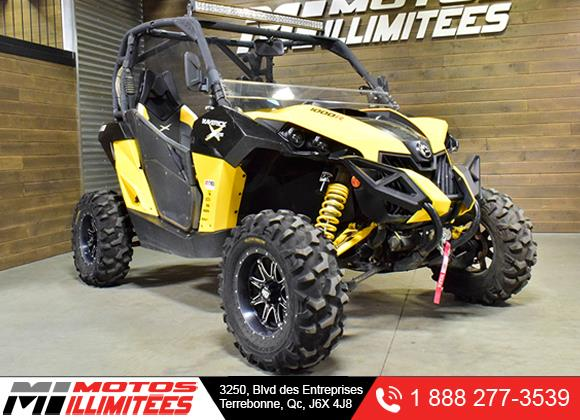 Can-am Maverick 1000R X RS DPS 2014