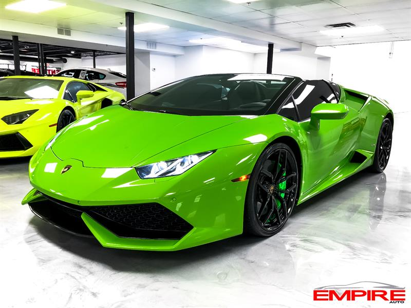Lamborghini Huracan 2016 LP610-4 SPYDER #AS0511