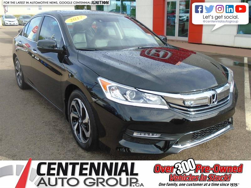 2017 Honda Accord Sedan EX-L | Bluetooth | Cruise Control | Heated Seats | #9524A