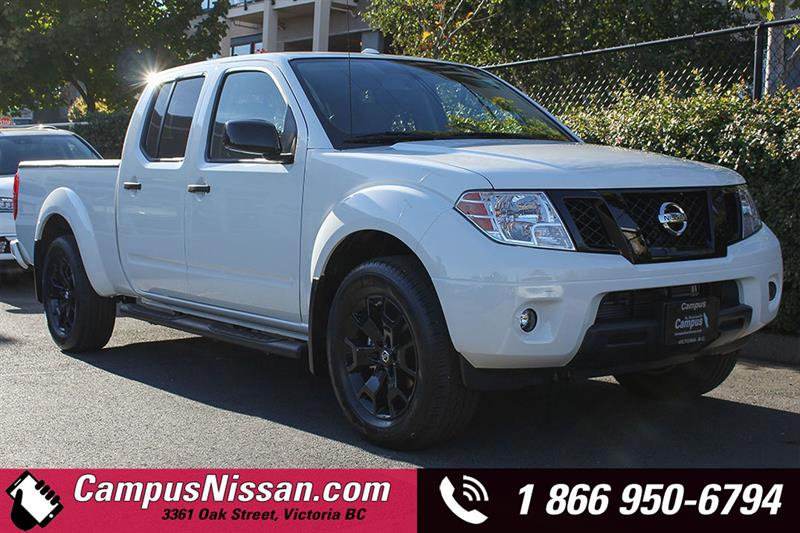 2018 Nissan Frontier Midnight Edition 4WD Crew Cab Long Box #8-T224