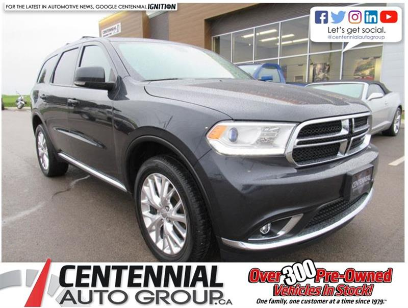 2016 Dodge Durango Limited | AWD | Leather | Sunroof #U588A