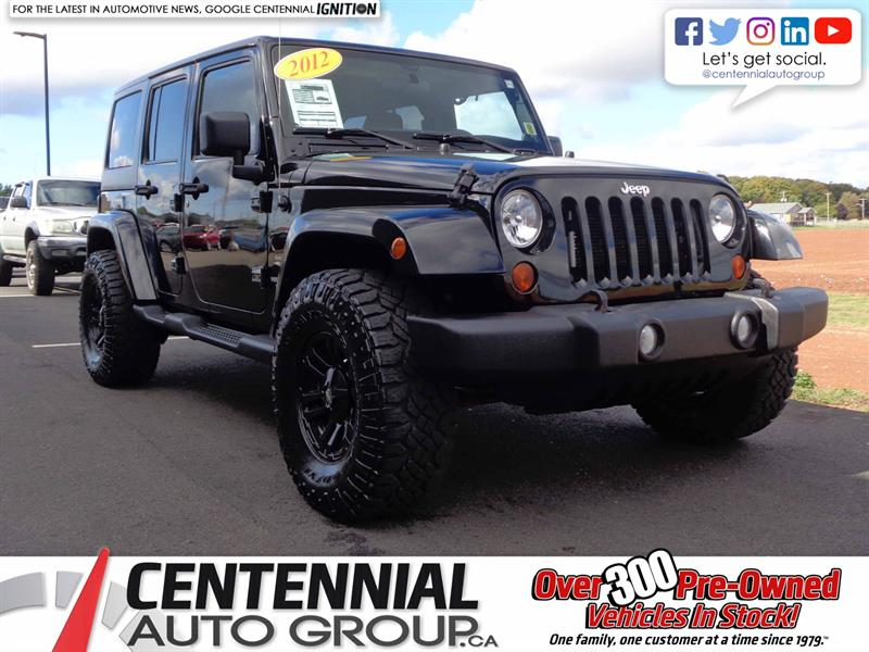 2012 Jeep Wrangler Unlimited Sahara | Aftermarket Wheels | #S17-295A