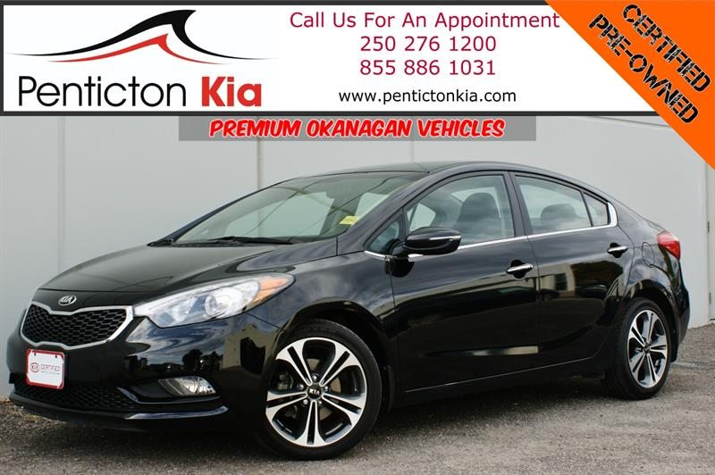 2015 Kia Forte 4Door Sedan EX - Heated Seats, Bluetooth #19SR06A