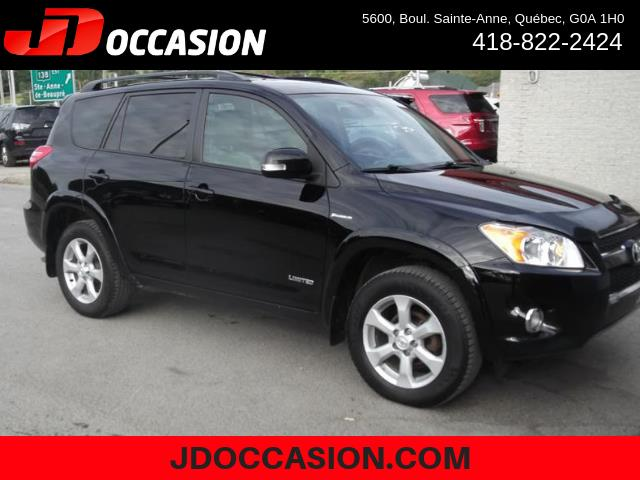 Toyota RAV4 2011 4WD 4dr 4-cyl 4-Spd AT Ltd (Natl) #MI144