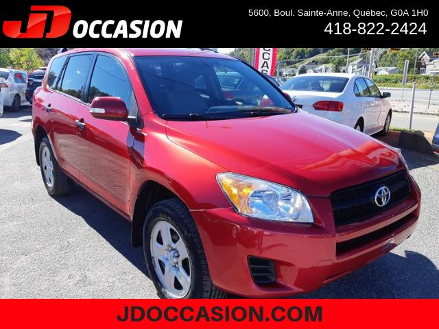 Toyota RAV4 2011 4WD 4dr 4-cyl 4-Spd AT (Natl) #MI145A