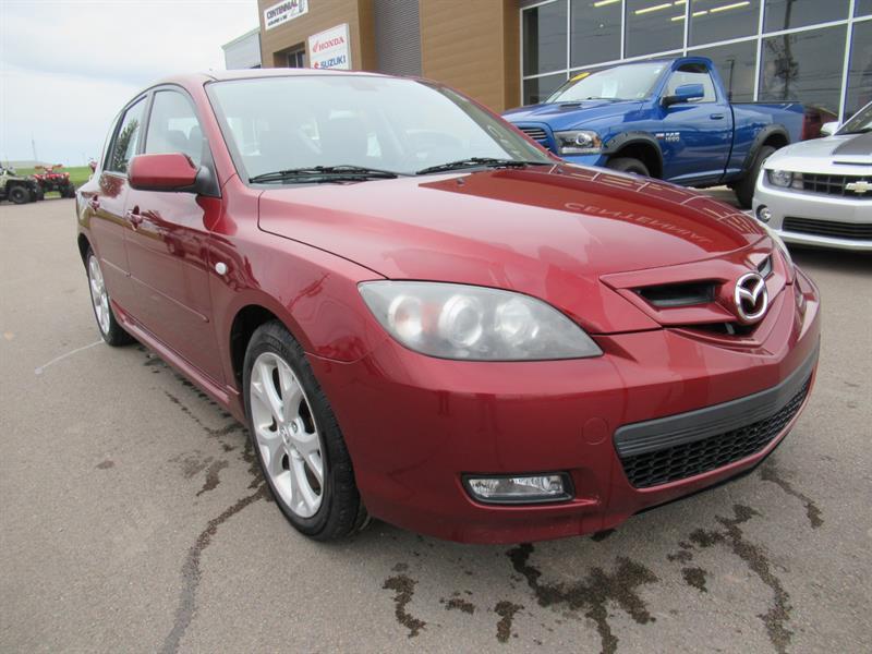 2008 Mazda MAZDA3 Sport Hatchback | 5 Speed Manual | Sunroof #U623
