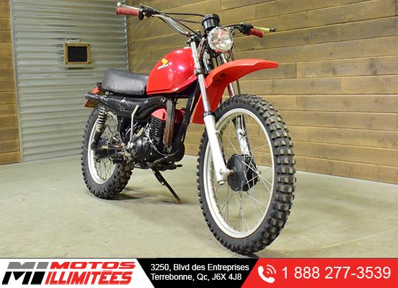 Honda Elsinore MR175 1977