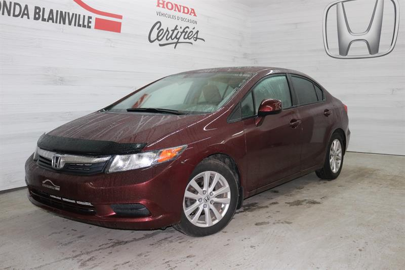 Honda Civic Berline 2012 4 portes Ex TOIT MAGS Automatique #181347A