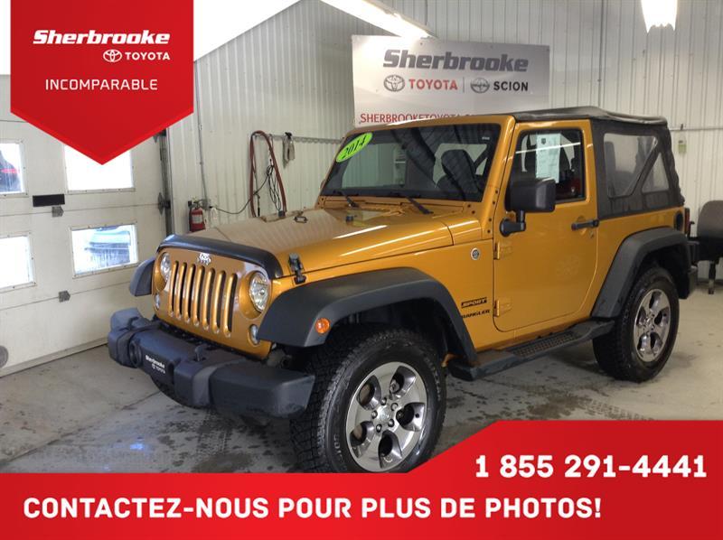 Jeep Wrangler 2014 4WD Sport #81029-1