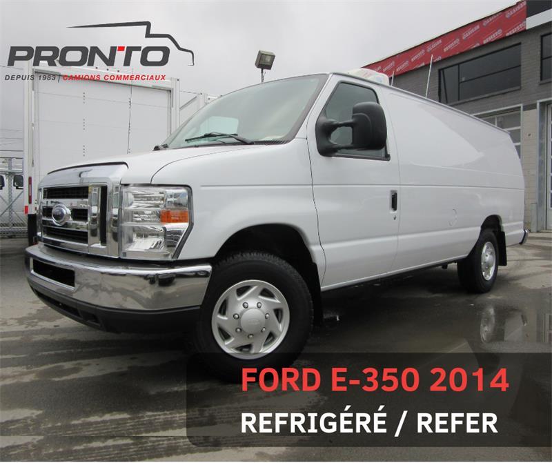 Ford Econoline Cargo Van 2014 E-350 ALLONGÉ ** REFER ** #3741