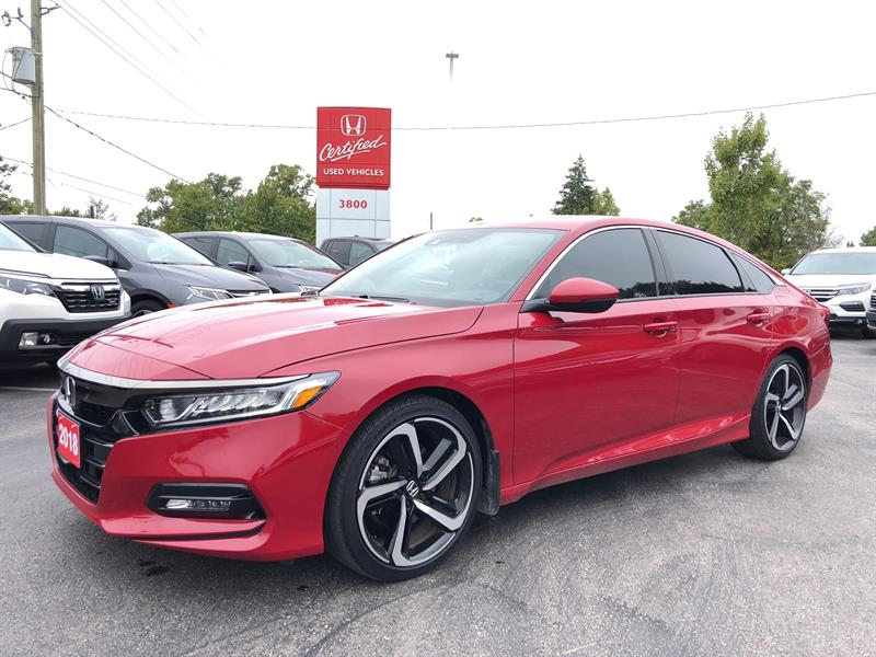 2018 Honda Accord Sedan Sport #21720