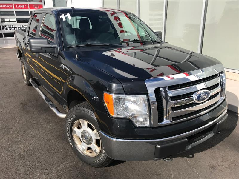 2011 Ford F-150 4WD SuperCrew #H636B