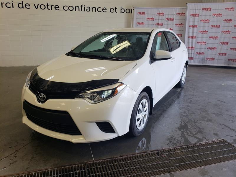 Toyota Corolla 2014 * CE * AIR CLIMATISÉE * BLUETOOTH * #80686A-61