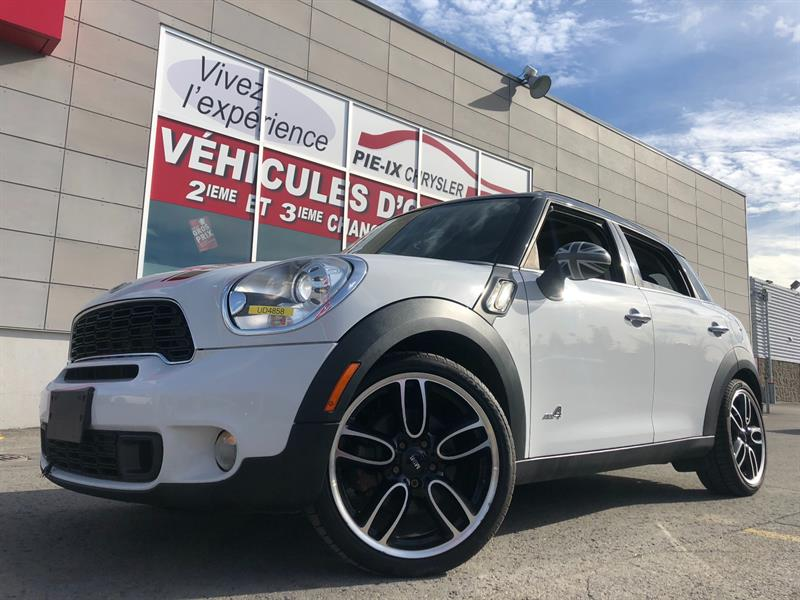 Mini Cooper Countryman 2012 AWD 4dr S ALL4+TOIT PANO+MAGS+4X4+WOW! #UD4858