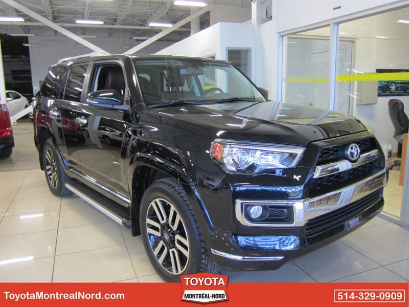 Toyota 4Runner 2017 Limited Awd V6 Nav+Toit+Cuir 7 Pass #3853 AT