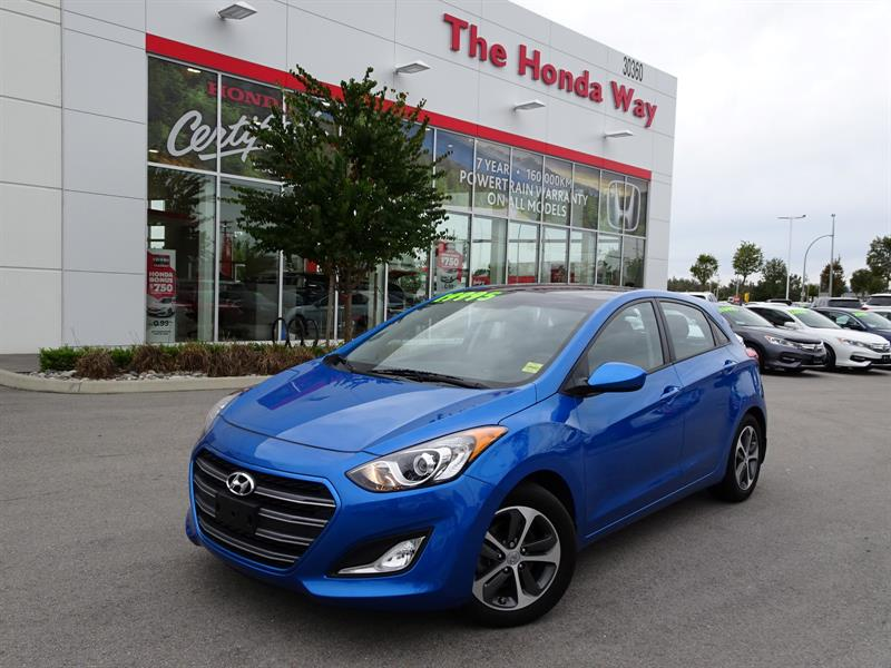 2017 Hyundai Elantra Gt GLS AUTO - PANO SUNROOF, ALLOY WHEELS, HEATED FRON #18-586D