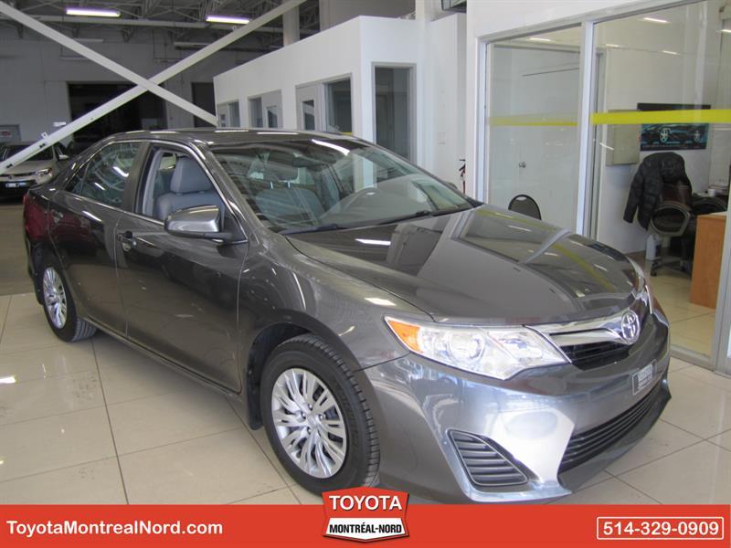 Toyota Camry 2013 LE  Camera Recul Aut/Ac/Vitres,Portes,Miroirs Elec #3353 AT