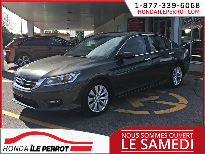 Honda Accord Sedan 2015 4dr I4 CVT EX-L CUIR #44709