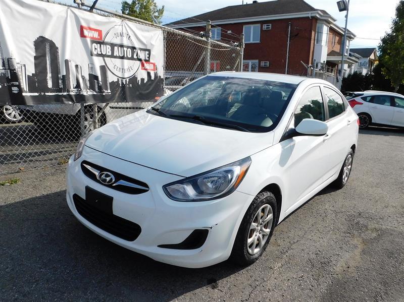 Hyundai Accent 2012 MANUELLE #CU044039