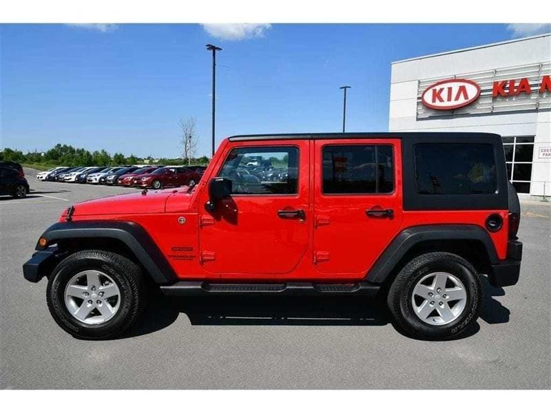 2014 Jeep Wrangler Unlimited Sport L HARD AND SOFT TOP Used For Sale In  Niagara Falls At Cardinal Kia