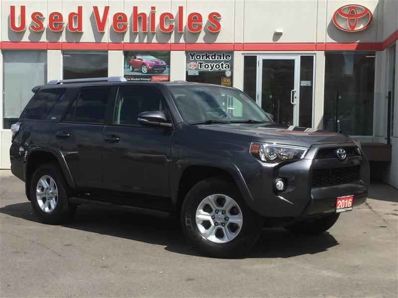 2016 Toyota 4Runner SR5 7 Pass- Nav  Leather  Sunroof  Keyless Entry  #P7435