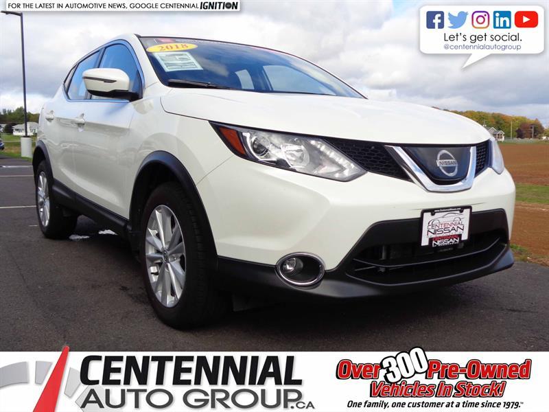 2018 Nissan Qashqai SV | AWD | CVT #SP18-031