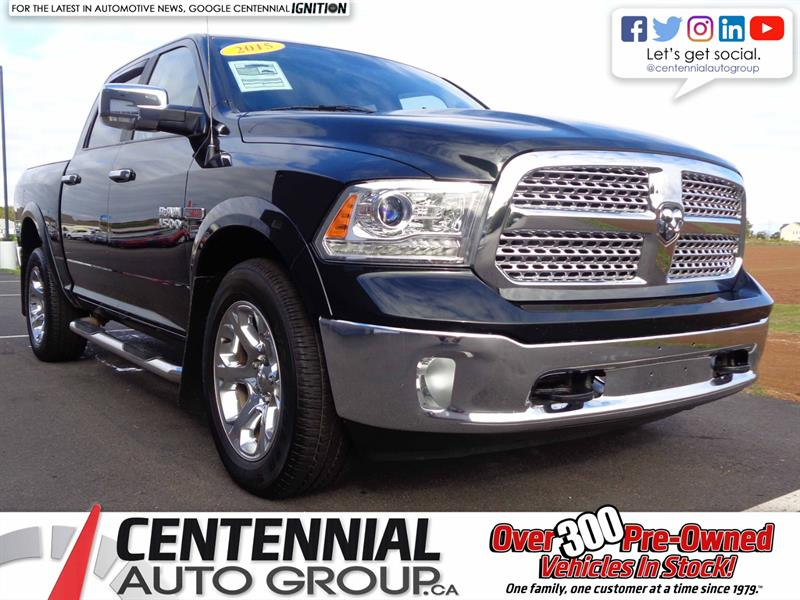 2015 Ram 1500 Laramie Diesel | 4WD | Fuel Sipping | #S18-082A
