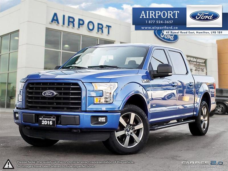 2016 Ford F-150 XLT Sport with only 35,785 kms  #1HL085