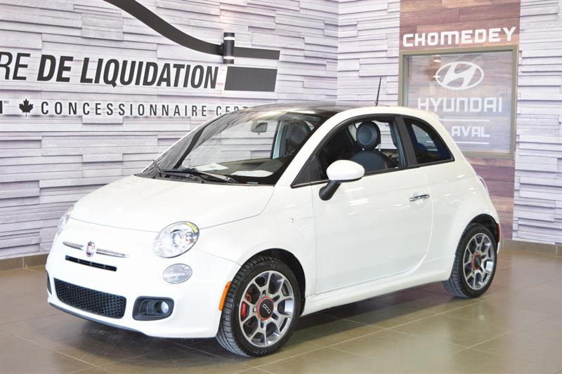 Fiat 500 2012 Sport TOIT+MAGS #180839a