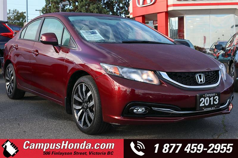 2013 Honda Civic Sdn Touring Navi Bluetooth #18-0936A