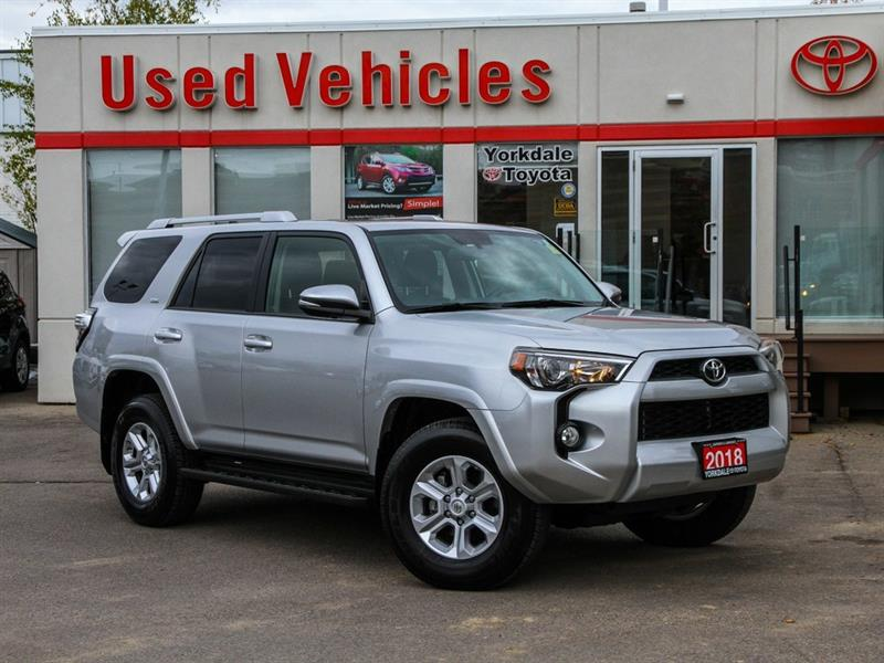2018 Toyota 4Runner SR5   7 Seats   Leather   Navi   H.Seats #P7595