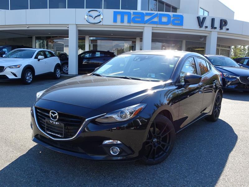 2016 Mazda MAZDA3 GT, TECH PACKAGE #B8593