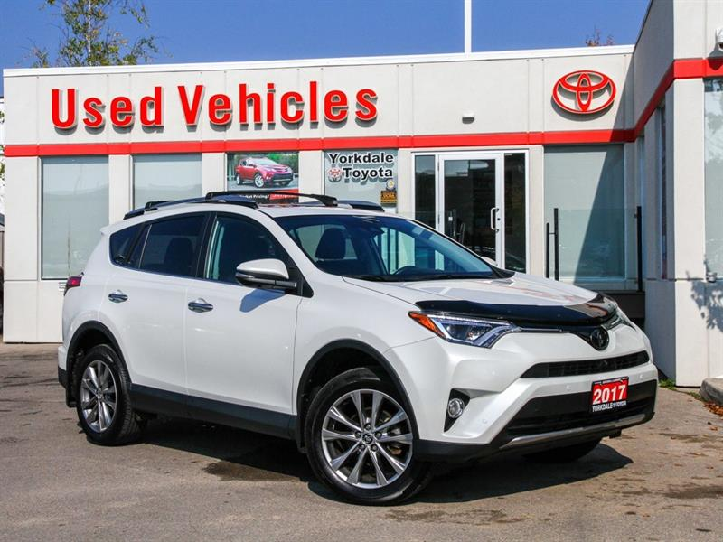 2017 Toyota RAV4 Limited   Navi   Leather   Sunroof   Toyota Sense #P7599