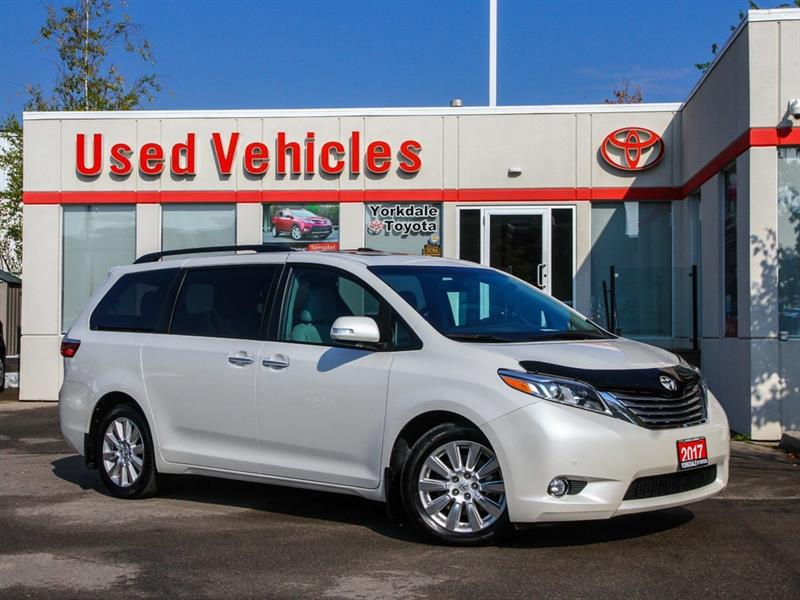 2017 Toyota Sienna Limited   Navi   Leather   DVD   Panoroof #9615210A