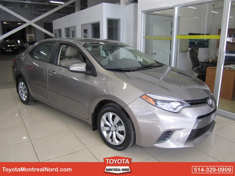 Toyota Corolla 2015 LE CVT Aut/Ac/Vitres,Portes,Miroirs Electriques  #3409 AT
