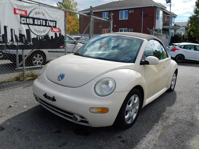 Volkswagen New Beetle 2003 GLS CONVERTIBLE SIÈGES CHAUFFANTS #3M321717