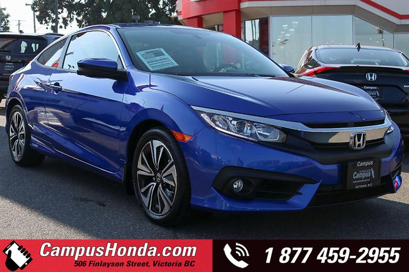 2017 Honda Civic Coupé EX-T Bluetooth Manual #18-0951A