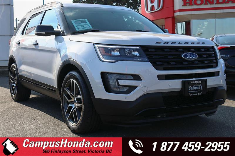 2017 Ford Explorer Sport AWD Navi Bluetooth #18-0957A