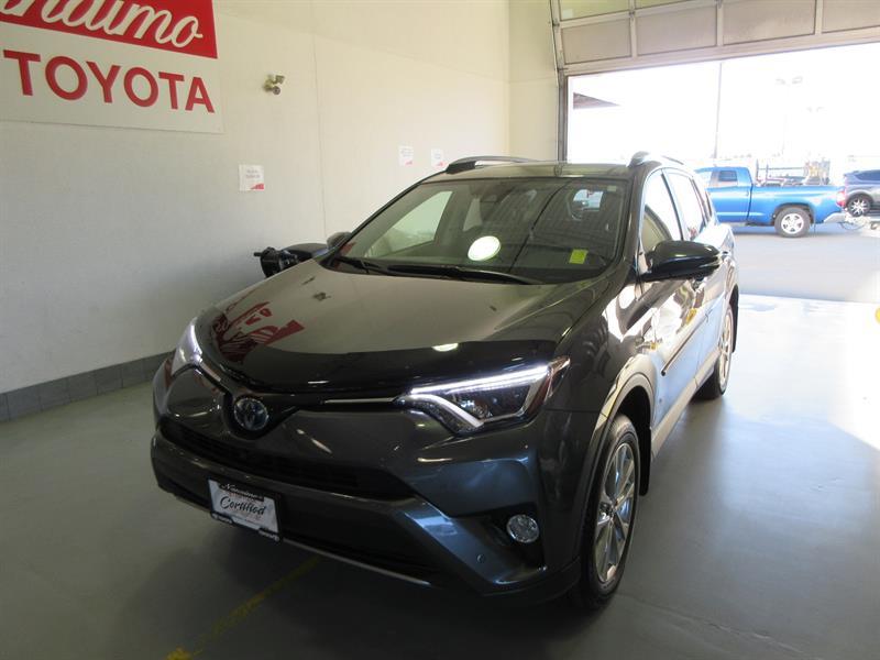 2018 Toyota RAV4 Hybrid AWD Limited #19585AH