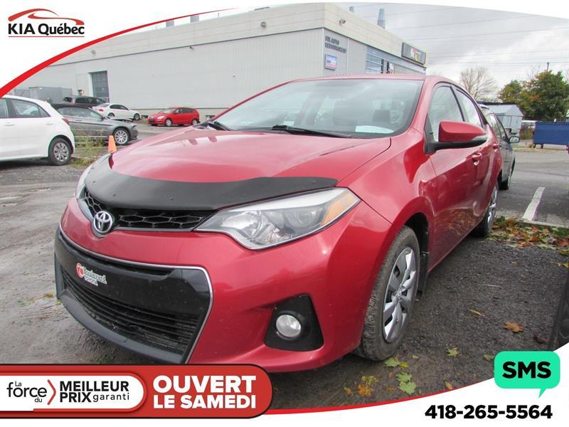 Toyota Corolla 2014 S* AUTOMATIQUE* CAMÉRA* SIÈGES CHAUFFANTS* #QU10383