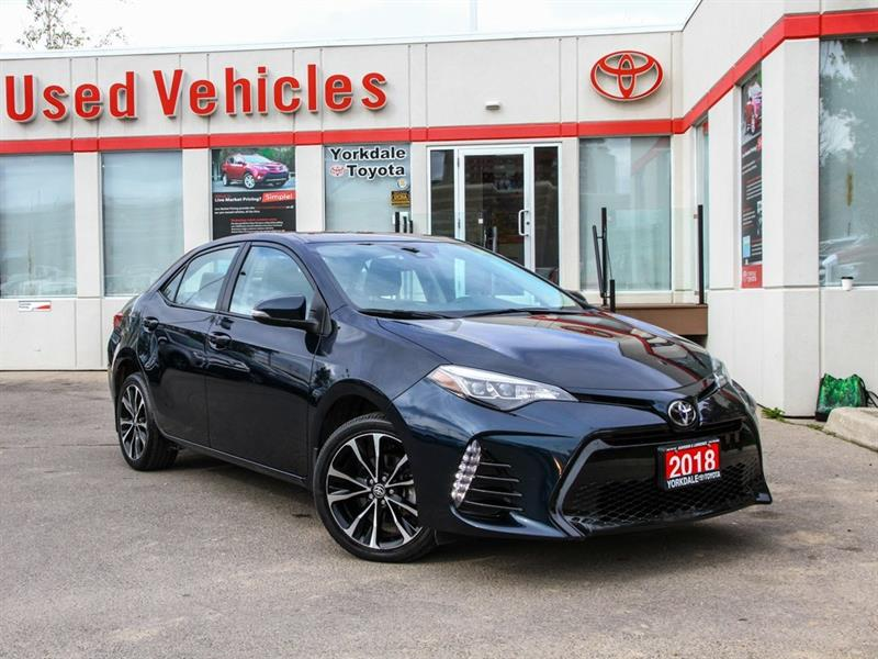 2018 Toyota Corolla SE   Sunroof   Alloys   Adaptive Cruise #P7622