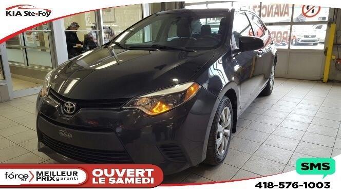 Toyota Corolla 2014 ** LE ** BANCS CHAUFFANTS * CAMÉRA DE RECUL * #U1824A