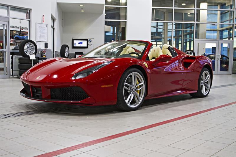 Ferrari 488 2016 Spider #U4107