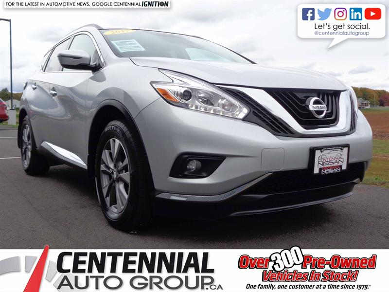 2017 Nissan Murano SV | AWD | MOONROOF |  #SP18-025